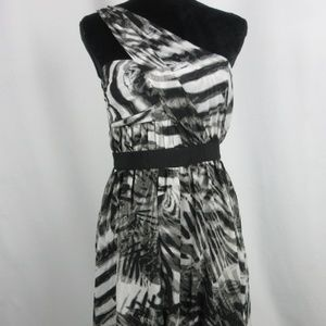 Vince Camuto Dress Black and White Size 12